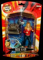 Doctor Who: Rose & K9 (rusty) - Action Figure Set